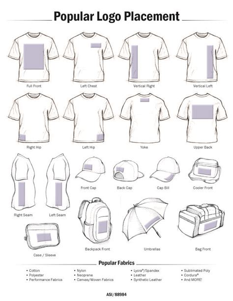 left chest logo placement template learn about the most popular logo placement and design sizes for your heat press business