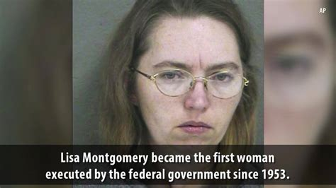 WHIO - Lisa Montgomery executed, becoming the first ...
