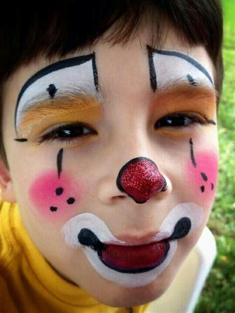 verblueffende clown schminken vorschlaege archzinenet