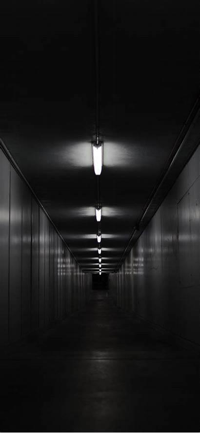 Dark Iphone Wallpapers Darkness Background Corridor Lighting