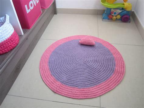 tapis chambre b 233 b 233 tapis chambre fille tapis en coton tapis au crochet tapis rond