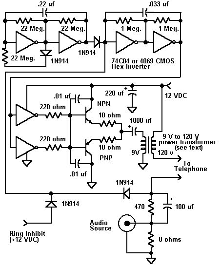 Telephone Wiring Voltage by Telephone Circuits