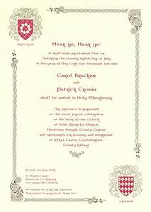 medieval wedding invitations wording google search With wedding invitations staples uk
