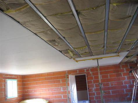 faire  plafond en placo maison travaux
