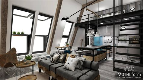 Loft Industrial Style by 7 Inspirational Loft Interiors