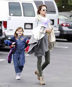 Alessandra Ambrosio takes daughter Anja to children's ...