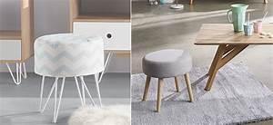 Tabouret Bas Scandinave : mobilier notre s lection de tabourets bas design prix tout doux ~ Teatrodelosmanantiales.com Idées de Décoration
