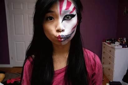Halloween Makeup Bleach Ichigo Manga Hollow Mask