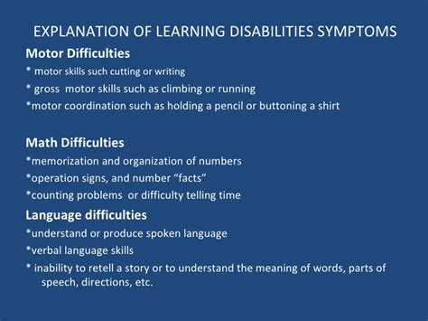 Thesis Statement For Learning Disabilities by Writing Difficulties For Students With Learning Disabilities