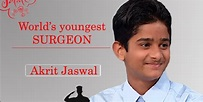 Record For World's Youngest Practicing Surgeon Held By ...