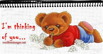 Thinking Teddy Graphics Bear Animated Icon Strong