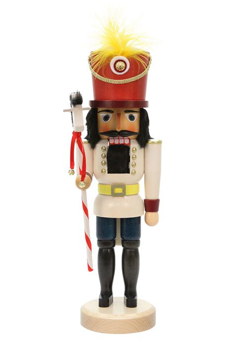 nutcracker toy soldier glazed 40 5cm 16in by christian