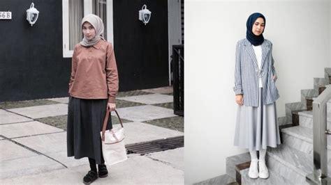 model rok  berhijab jilbab voal