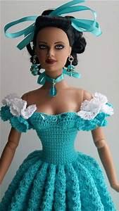 Best 25+ Crochet doll dress ideas on Pinterest | Crochet ...