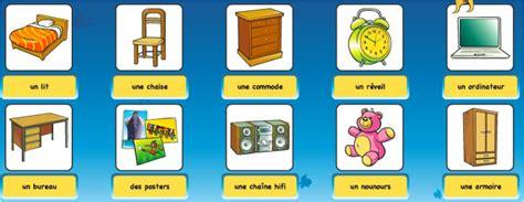 vocabulaire de la chambre vocabulaire de la maison catherine classes