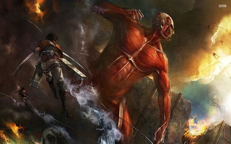 attack  titan wallpaper hd  wallpapersafari