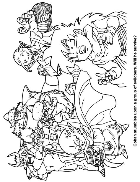 Coloring Page - Dragon ball z coloring pages 5