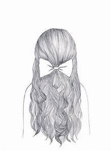 girl hair drawing tumblr Google Search Drawings & Illustrations Pinterest My hair, Girls