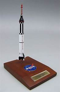 NASA - Mercury Redstone - Rocket - 1/100 Scale Model