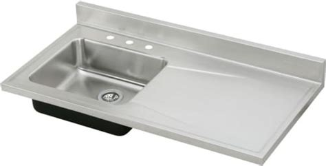 non stainless steel kitchen sinks elkay s4819l4 48 inch single bowl stainless steel sink top 7120