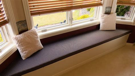window seat cushion bay window seat diy