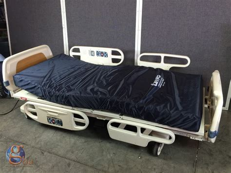 stryker secure ii fully electric hospital bed with scale