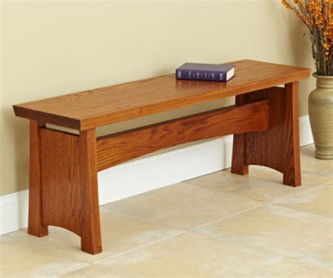 traditional  robust seating bench woodworking plan