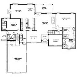Single Story 4 Bedroom House Plans 4 Bedroom One Story House Plans Marceladick