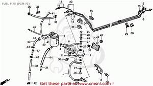 1994 Honda Civic Fuel Filter Location