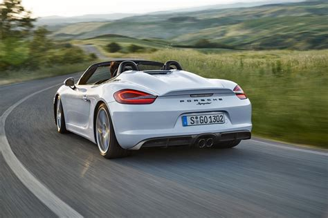 Porsche Car : Porsche Boxster Spyder (2015) Review