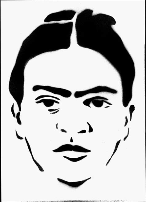 famous faces stencil   face stencils