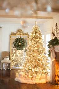 french country cottage christmas tree - Country Cottage Christmas Decorating Ideas
