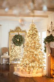 french country cottage christmas tree