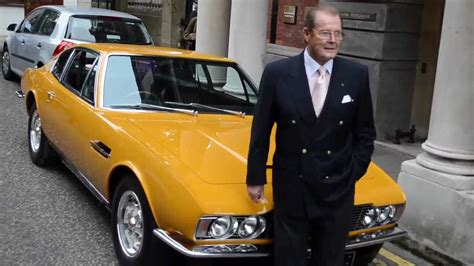 Sir Roger Moore reunited with his Aston Martin DBS from ...