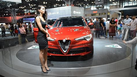 Alfa Romeo New York by 2018 Alfa Romeo Stelvio 2017 New York Auto Show