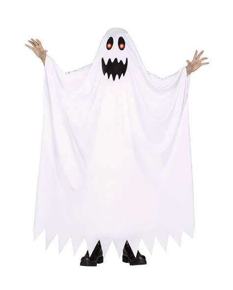 geist kostüm kinder geist kinderkost 252 m mit leuchtenden augen klassisches geisterkost 252 m horror shop