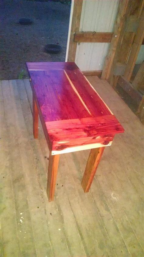 aromatic cedar table ana white