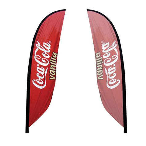 feather flag single sided graphic  sycolor