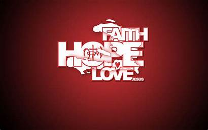 Faith Hope God Quotes Wallpapers Background Christian