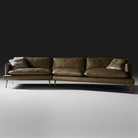 contemporary italian leather sectional sofas modern italian leather modular sofa