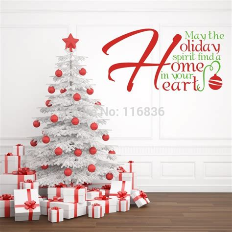 christmas home decoration wall stickers quote quot holiday