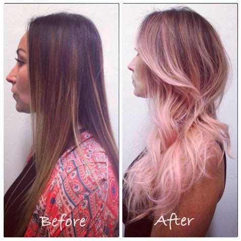 Ombre Hair Pink Hair By Norelle Pastel Pink Hair Color