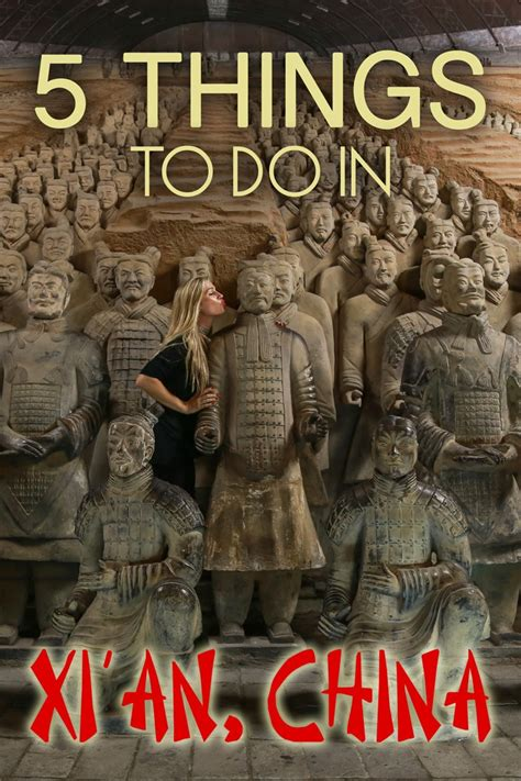 Five Things To Do In Xi'an, China • The Blonde Abroad