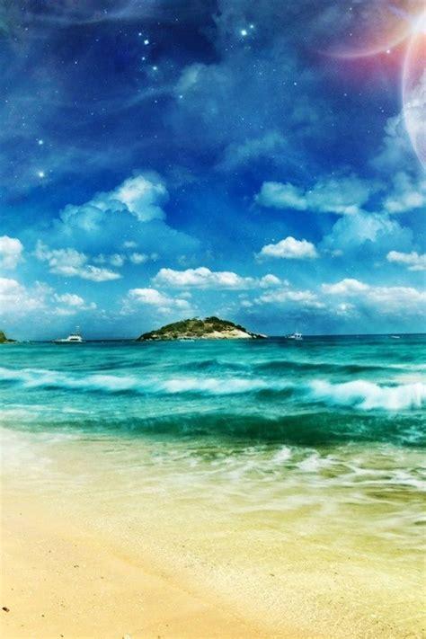 Please contact us if you want to publish a beach phone wallpaper on. hd dreamy sea beach coast iphone 4 wallpapers | Ilusão de ótica, Natureza, Fotos