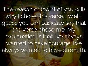 Bible Quotes On Courage And Strength. QuotesGram