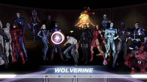 Marvel Ultimate Alliance All Character Costumes Unlocked