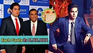 Mukesh Ambani Eldest Son Akash Ambani Wedding Card Costs ...