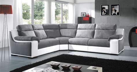 canapé d angle relax cuir canapé d angle en cuir ou tissu avec bibliothèque