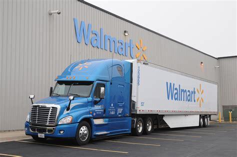 Walmart truck and trailer