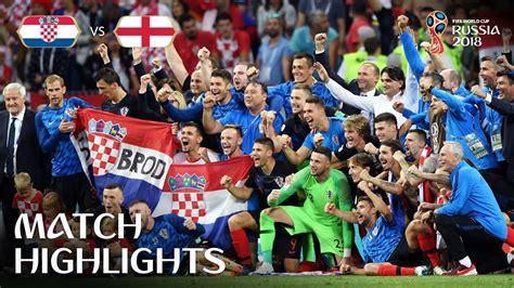 Croatia Aet England Russia Fifa